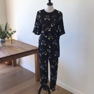 HM Floral jumpsuit